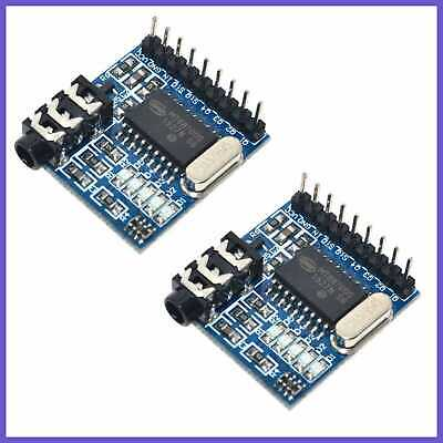 2Pcs MT8870 DTMF Voice Decoder Decoding Module Telephone For A SMALL BLUE