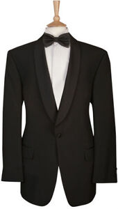 Mens Formal Shawl Collar Dinner Suit Full Suit Package Evening Wear