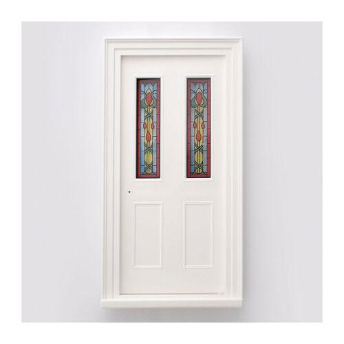 # Sa-dollshouse diy206 puerta puerta de entrada blanco 1:12 para casa de muñecas nuevo