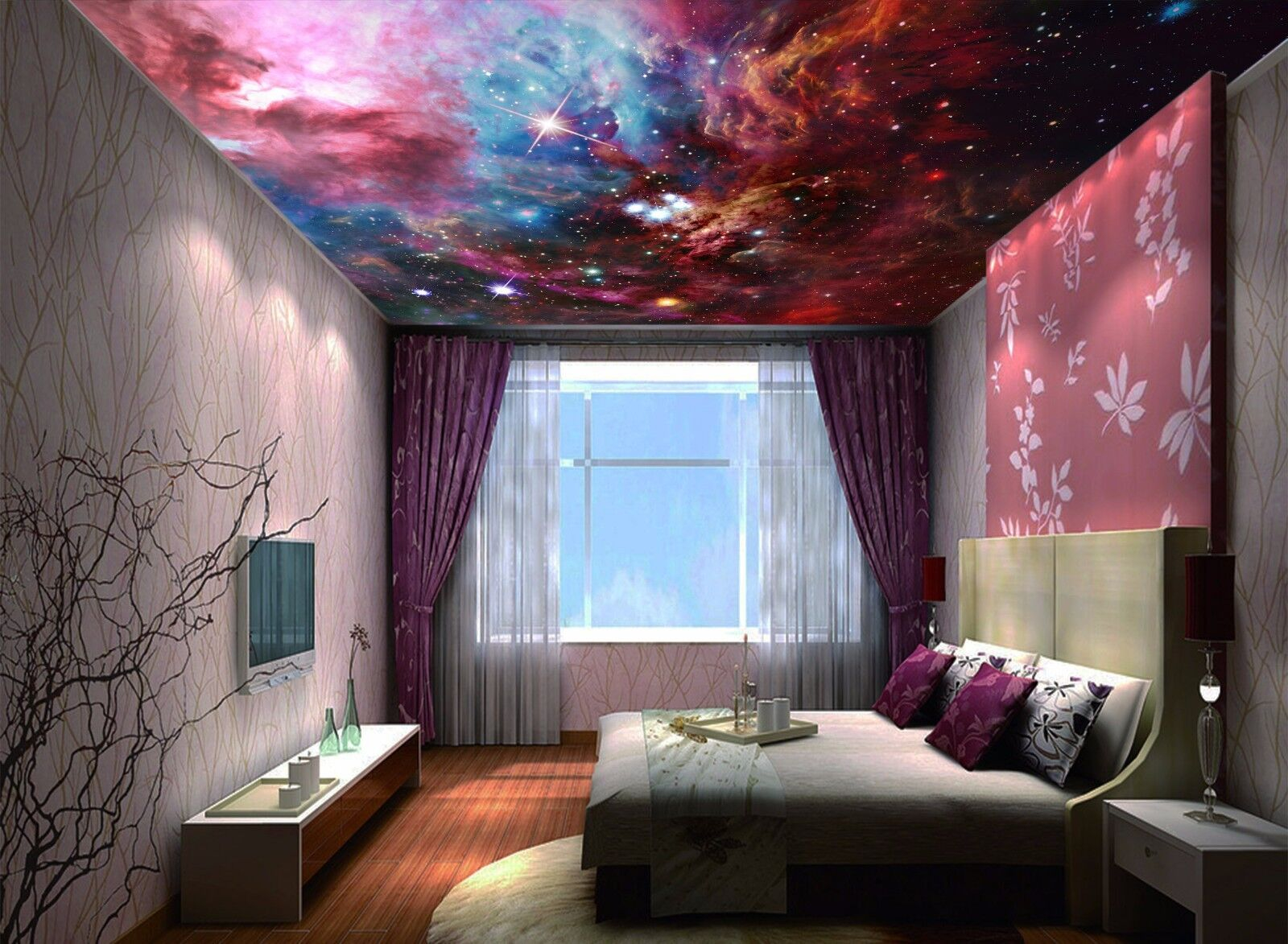 3D Sky Stars 46 Ceiling WallPaper Murals Wall Print Decal Deco AJ WALLPAPER AU