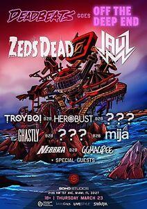 Details about ZEDS DEAD /JAUZ