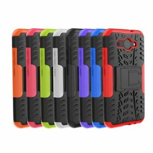 Rugged-Hybrid-Armor-Shockproof-Hard-Case-Kickstand-Cover-For-Huawei-Y3-2017-2018