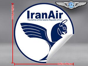 IRANAIR-IRAN-AIR-ROUND-LOGO-STICKER-DECAL
