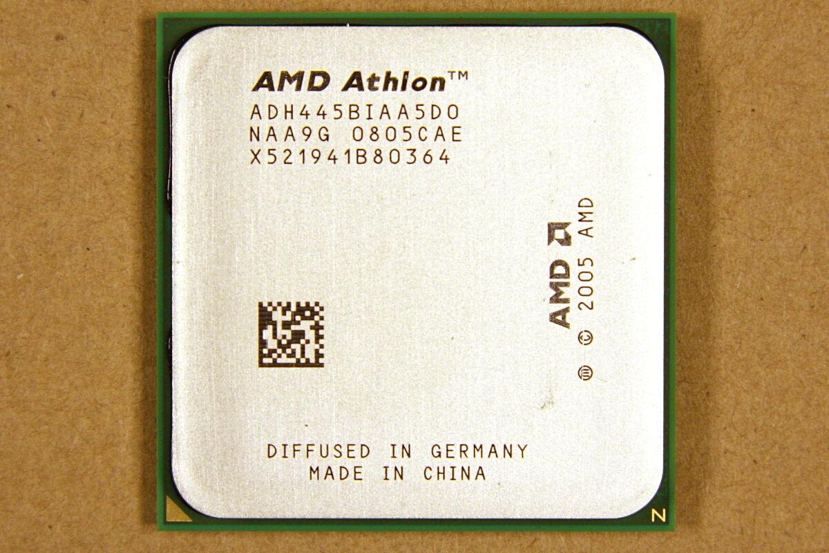 [LOT] 11x AMD 2.3GHz Dual-Core Athlon 64 X2 4450B ADH445BIAA5DO Socket AM2 CPU