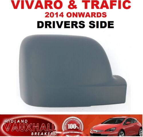 Controladores secundarios Opel Vivaro van Renault Trafic Primed Espejo Retrovisor Tapa De Carcasa