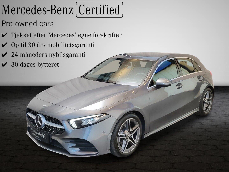 Mercedes A200 d 2,0 Advantage AMG aut. 5d - 344.900 kr.