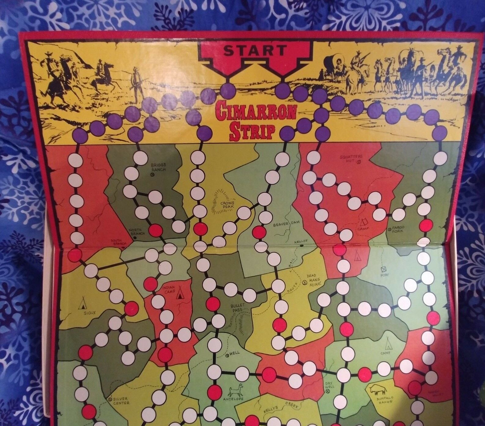 1967 1967 1967 Cibrown Strip Board Game With Pieces Still Intact Extremely Rare UNUSED   b25310