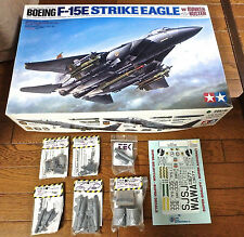 1/32 F-15E TAMIYA + CUTTING EDGE EXHAUST, UPDATE, LANTIRN,ACES II, 2K BOMB DECAL