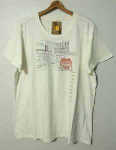 Carhartt S/S Vintage Seattle Graphics T-Shirt Women's XXL ...