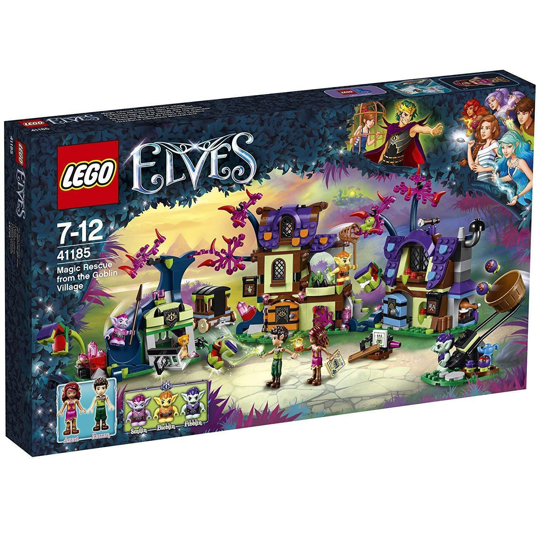 Lego Elves 41185 Mágica Salvataje Del Kobold-Dorf Nuevo Embalaje Original Misb