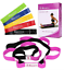Physical-Therapy-and-Yoga-Loops-Stretching-Strap-with-5-Exercise-Resistance-Band thumbnail 1