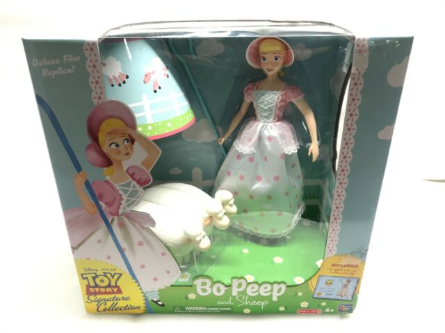 Rare! Toy Story Signature Collection Bo Peep and Sheep ThinkWay Collectible New