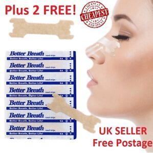 CHEAPEST-1000-Nasal-Nose-Sleep-strips-better-breathe-Stop-Snoring-Breath-Easier