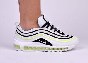Detalles acerca de Nike Wmns Air Max 97 para mujeres estilo de vida  zapatillas nuevas cumbre voltios Blanco 921733-105- mostrar título original