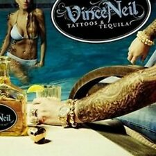 VINCE NEIL Tattoos & Tequila 2010 CD (12 Tracks) NEW