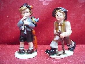 2 Bella, vecchio Porzellanfiguren___ Cortendorf__