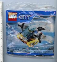 Lego Prison Island Helicopter Polybag 30346 Sealed City