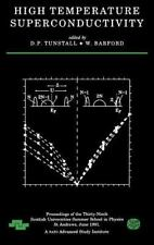 Scottish Graduate: High Temperature Superconductivity : Proceedings of the...