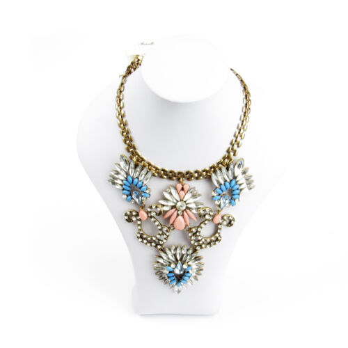 Jewellery Bundle Summer Flower Style Scarf And Necklace Set For Women