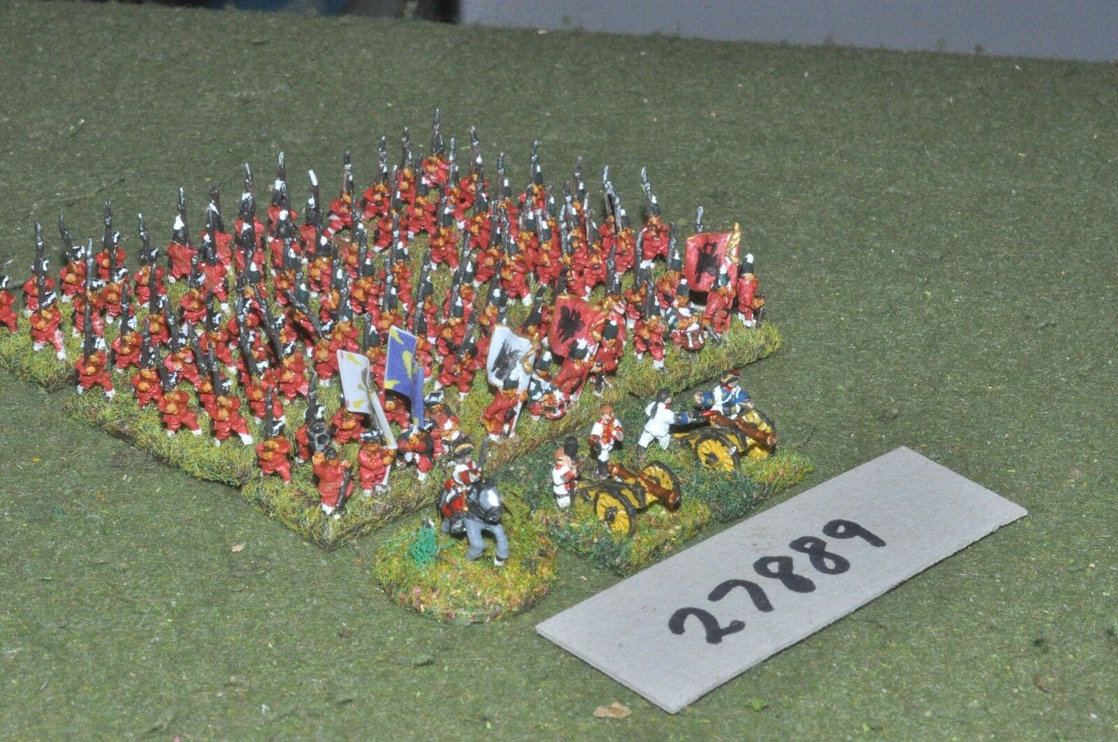 10mm 7YW   russian - battle group 100 figures - inf (27889)