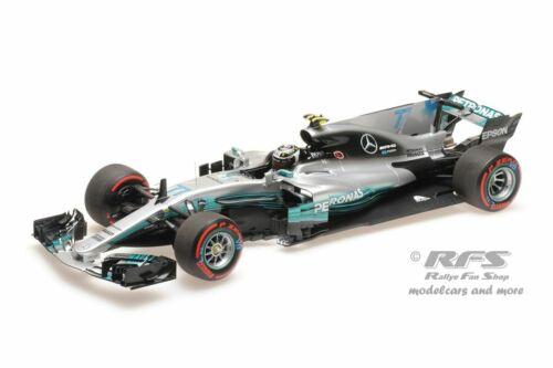 Mercedes-amg f1 w08 Valtteri Bottas fórmula 1 méxico 2017 1:18 Minichamps nuevo