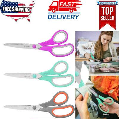 "Stainless Taotree 8/"" Multipurpose Scissors Scissors 20-Pack Soft Comfort Grip"