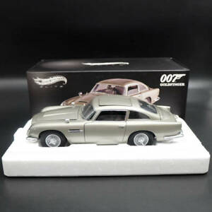 1-18-Hotwheels-ELITE-Aston-Martin-DB5-Goldfinger-007-JAMES-BOND-BLY20-Diecast