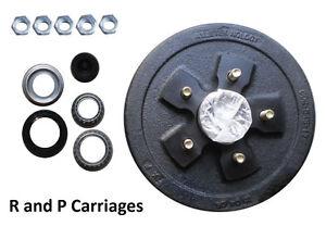 "10""x 2.2"" Trailer Axle brake hub drum 3500# Axel 5 x 5.5"" Fits Dexter ALKO kit"
