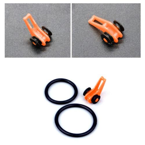 Lot Asport Fishing Rod Easy EZ Hook Keeper Holder Adjustable Tackle Tenkara 10