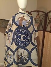 Chanel Fabulous Vintage Authentic Silk Scarf