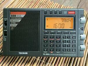 TECSUN PL-990X Double Conver. Microchaîne Radio À Ondes Courtes