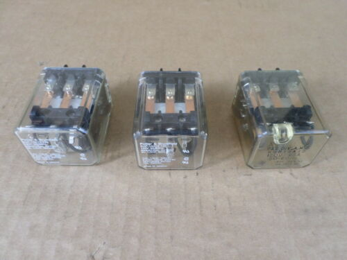 Lot of 3 Potter /& Brumfield KUP-14A15-120 Relays