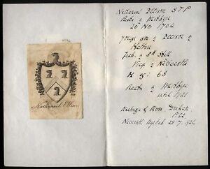 18th-19th-Century-Ex-libris-Book-Plate-Nathanael-Ellison