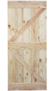 Image Is Loading 36 X84 Natural Primed Solid Barn Knotty Pine