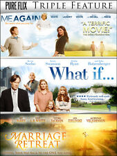 Family Triple Feature DVD Set: Marriage Retreat, What If..., and Me Again