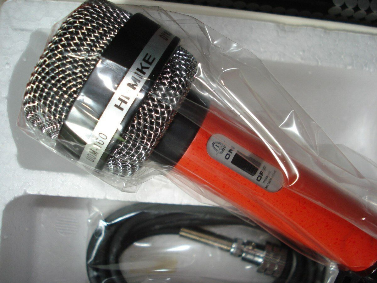 MICROPHONE  HI-MIKE UDM-160 MODEL  new MADE IN JAPAN  Vintage  Years 70s