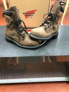 8f5c7f57915 Details about Red Wing 4414 Men's STEEL TOE MADE IN USA Waterproof Boots  Size 8.5 New With Box