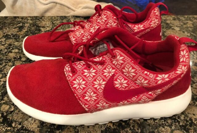 Nike Roshe One Winter 807440 661 Red White Men's Size 8 Yeti