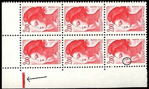 TIMBRE-VARIETES-LIBERTE-2-00-ROUGE-N-Yvert-2274-L30A