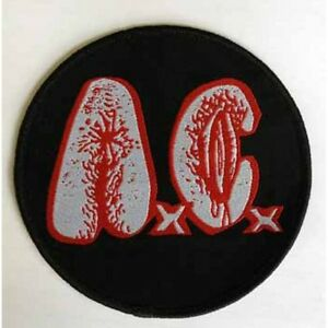 """A.C. """"Logo"""" Woven Patch - OFFICIAL 40 more reasons i like it when you die"""