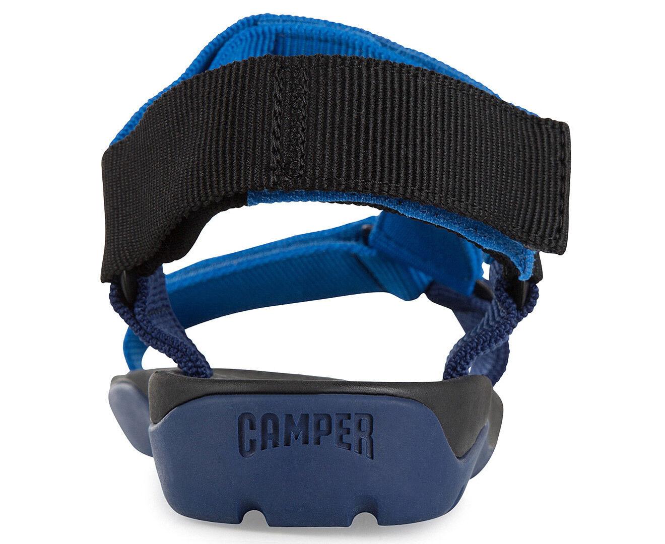 CAMPER MENS MATCH SHOE - BLUE & BLACK
