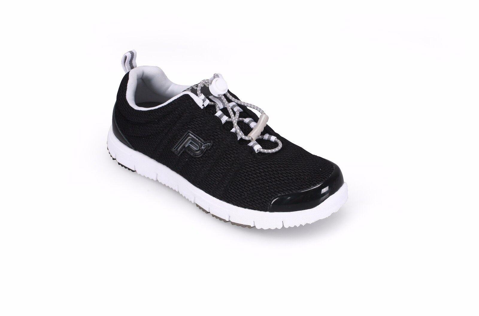 Propet Mujeres Viaje Walker Negro II W3239 Negro Walker Zapatillas de peso ligero 00ef07