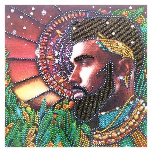5D DIY Special Shaped Diamond Painting Boy Cross Stitch Mosaic Craft Kits H1
