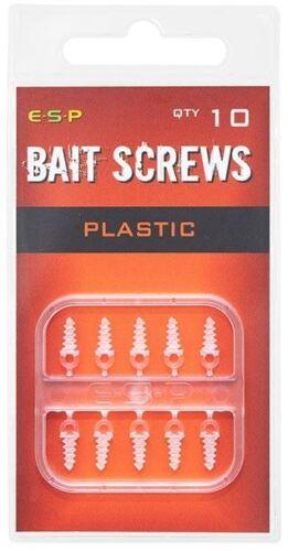 NEW ESP BAIT SCREWS METAL OR PLASTIC *PAY ONE POST*