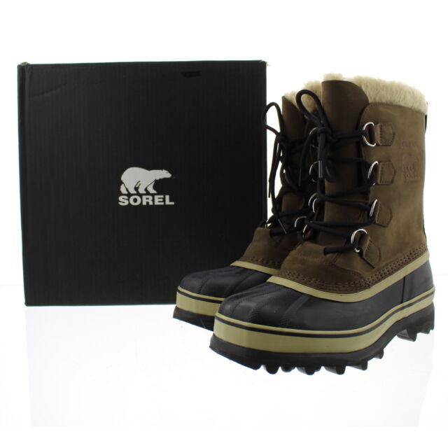 54535526d42 Sorel Caribou Bruno Men's Waterproof Winter BOOTS Size 10 US