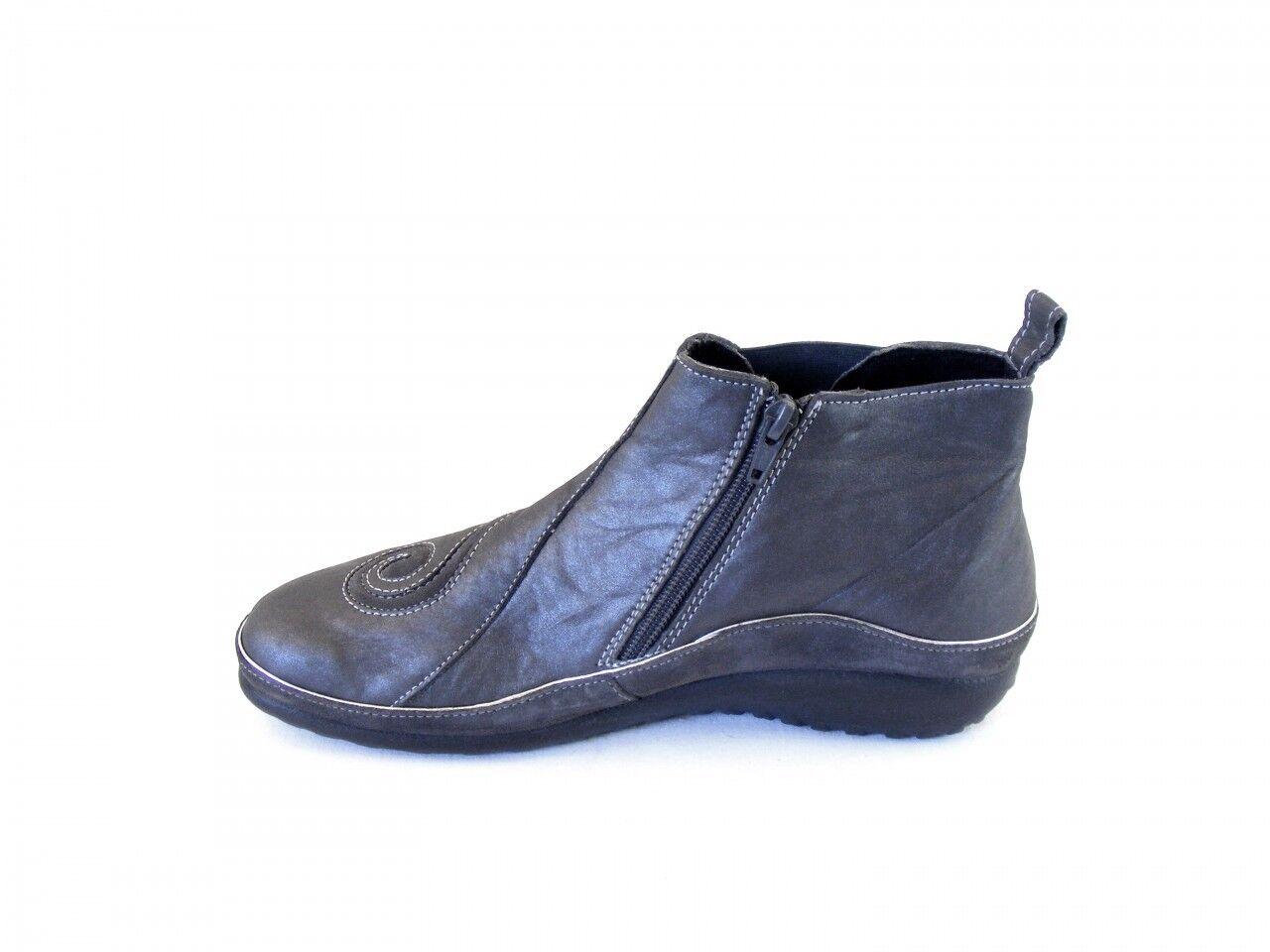 Naot Damen grau Schuhe Stiefeletten Chi Echt-Leder grau Damen 8956 Wechselfußbett Echtleder 7a96a9