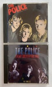 1980-s-THE-POLICE-CD-LOT-Outlandos-D-Amour-amp-Every-Breath-You-Take-A-amp-M-Records