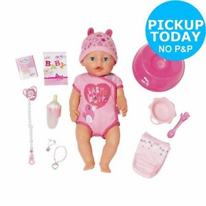 Baby Born Soft Touch Girl Doll 3+ Years 4001167824368