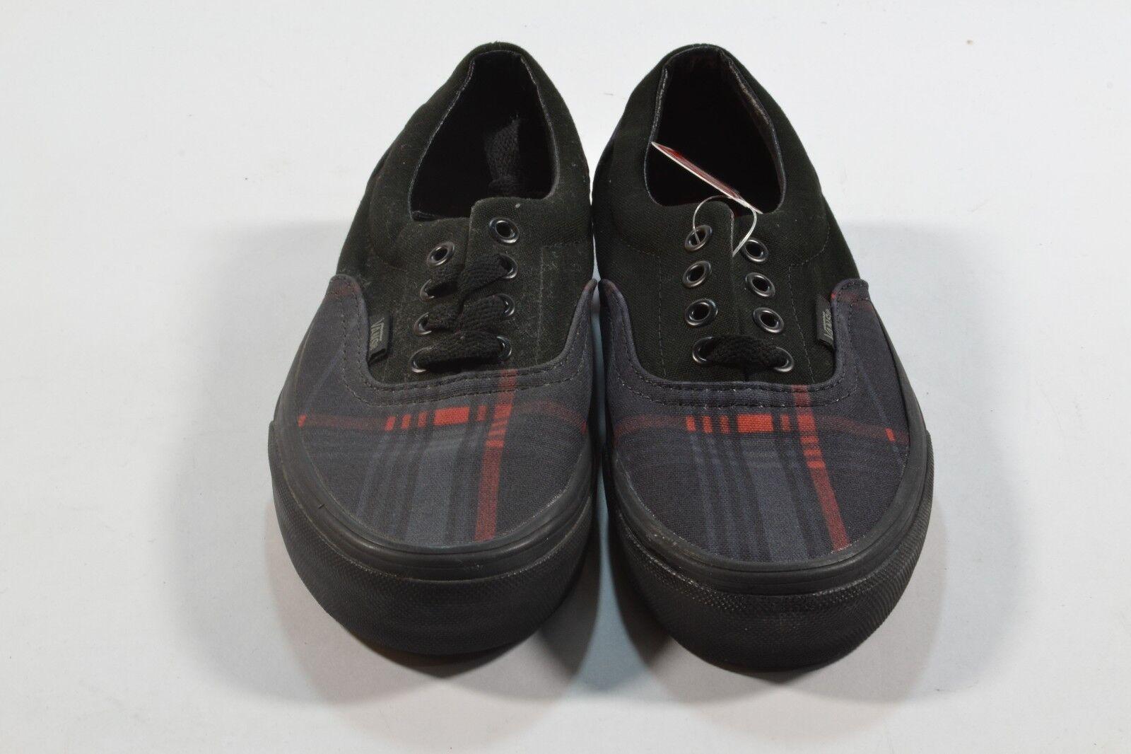 raie rouge rouge raie écossais fourgonnettes era scout noir réduit (82) les chaussures pou r femmes 8d44d7