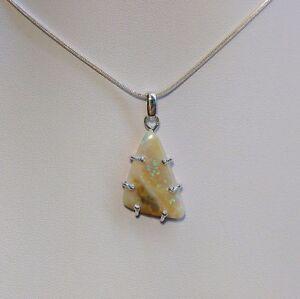 8ct-Precious-Australian-Solid-White-Opal-pendant-925-Sterling-Silver